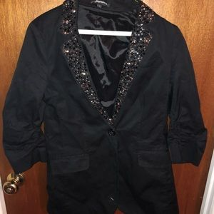 Express Embellished Blazer Size 2